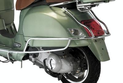 Vespa GTV Chrome Rear Protection