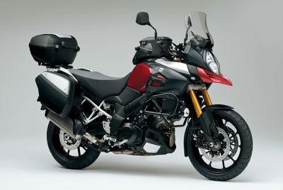 Suzuki V-Strom 1000 ABS Higher Seat