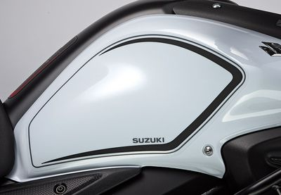 Suzuki V-Strom 650 ABS Tank Protection Foil Set Black