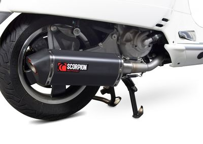 Scorpion Serket full system exhaust Vespa GTS250