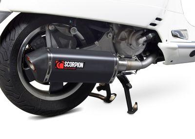 Scorpion Serket full system exhaust Vespa GTS300
