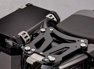 Suzuki V-Strom 650 ABS Top Case Carrier - Black