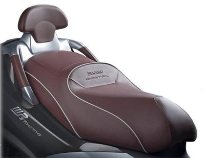 Piaggio MP3 Comfort Seat Brown