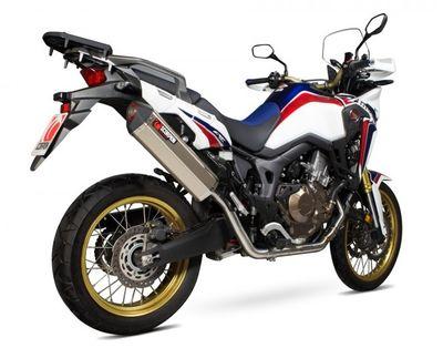Scorpion Serket Taper Exhaust Honda CRF1000-Africa-Twin