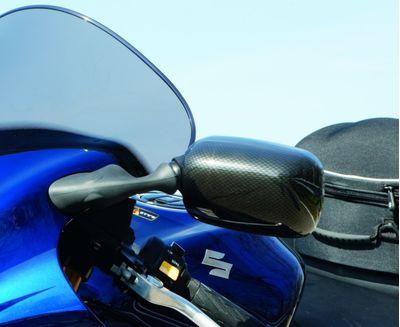 Suzuki Hayabusa Mirror Cover Set