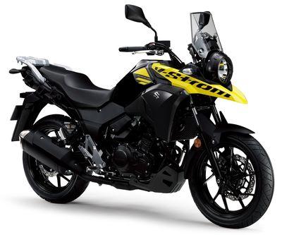 New Suzuki V-Strom 250 L7 2017 Black Yellow