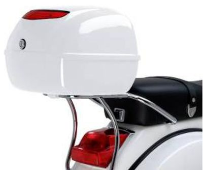 Vespa PX Chrome Top Box Carrier