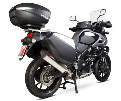 Scorpion Serket Exhaust Suzuki V-Strom 1000 2014 2017