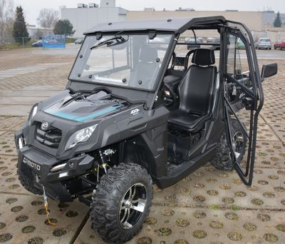 Quadzilla UForce 800 EPS Road Legal Buggy Black