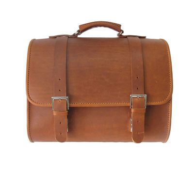 Vespa Sprint GTS Super Leather Top Bag Brown