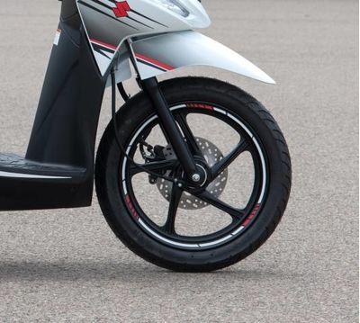 Suzuki Address 110 Wheel Rim Decal
