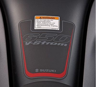 Suzuki V-Strom 650 ABS Tank Pad Protector