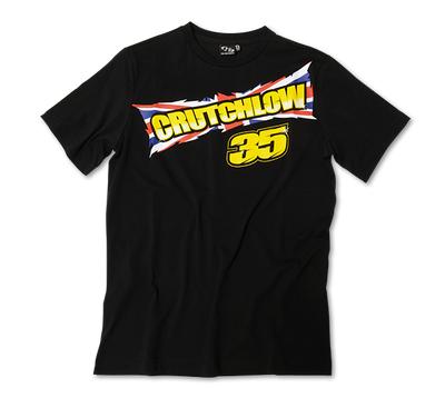 Cal Crutchlow T-shirt Black Front