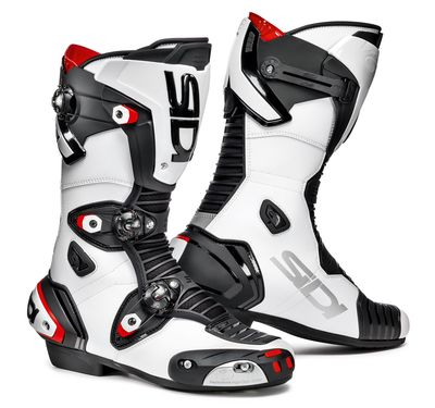 Sidi Mag 1 Motorcycle Boots Black / White