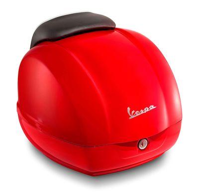 Vespa GTS Super Top Box Red