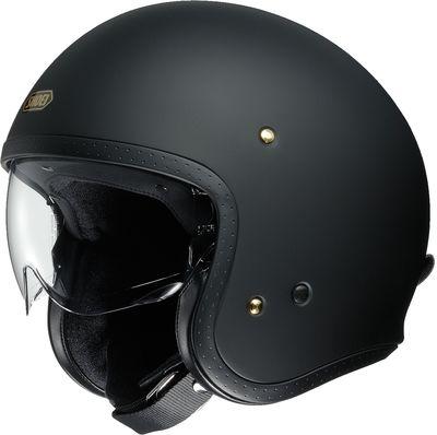 Shoei J.O matt black motorcycle helmet