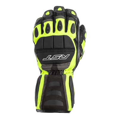 RST Storm Waterproof CE Gloves - Flo Yellow