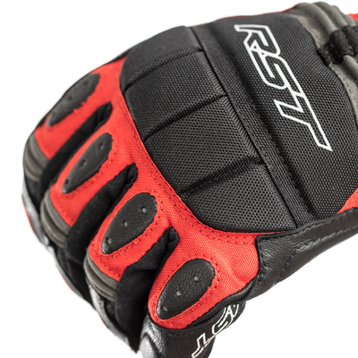 RST Storm Waterproof CE Gloves - Red