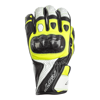 RST Stunt 3 CE Gloves - Flo Yellow