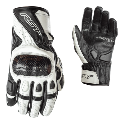 RST Stunt 3 CE Gloves - White