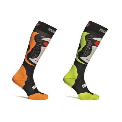 Sidi Faenza Socks Orange