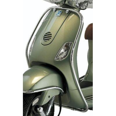 Vespa LXV Chrome Front Protection