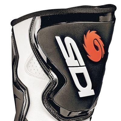 Sidi Fusion motorcycle boots black white