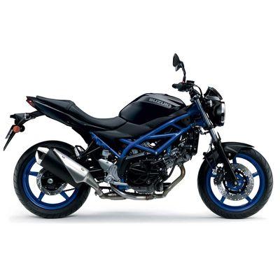 Suzuki SV650 Blue Black