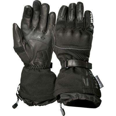 Weise Montana Waterproof Leather Gloves Black