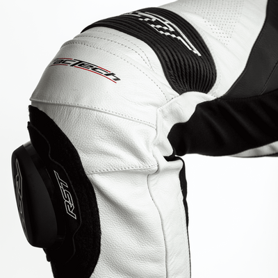 RST Tractech Evo 4 Leather Suit - White / Black