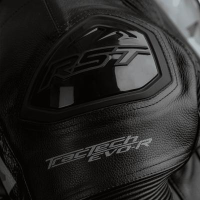 RST Tractech Evo R Leather Suit - Black / Camo