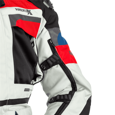 RST Pro Series Adventure-X CE Ladies Textile Jacket - Ice / Blue / Red
