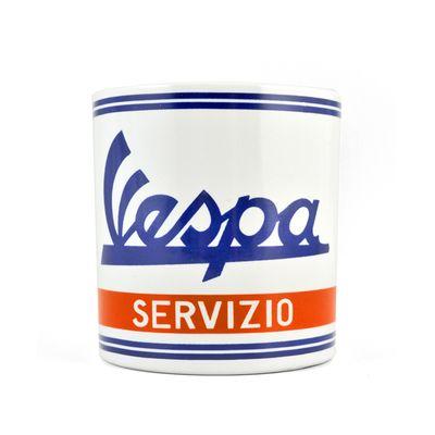 Vespa mug servizio white