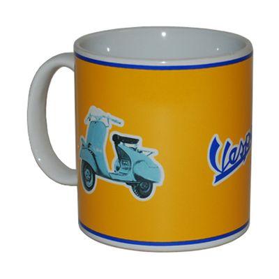 Vespa mug Vintage Yellow