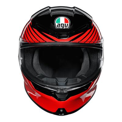 AGV Helmets - AGV K6 Rush - Black Red