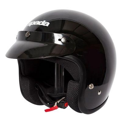 Spada Open Face Helmet Gloss Black