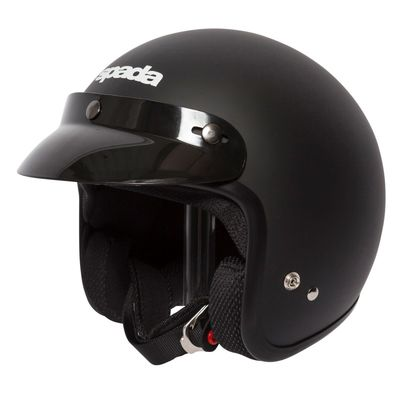 Spada Open Face Helmet Matt Black
