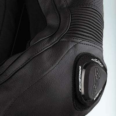 RST Pro Series Airbag CE Leather One Piece Suit - Black