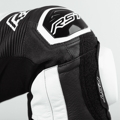 RST Pro Series Airbag CE Leather One Piece Suit - White/Black