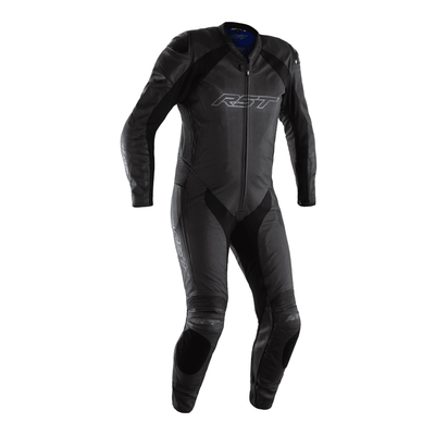 RST Podium Airbag CE Leather One Piece Suit - Black