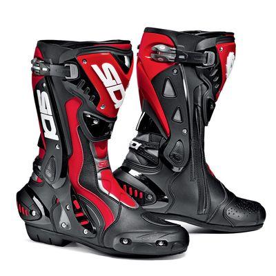Sidi ST boots red black