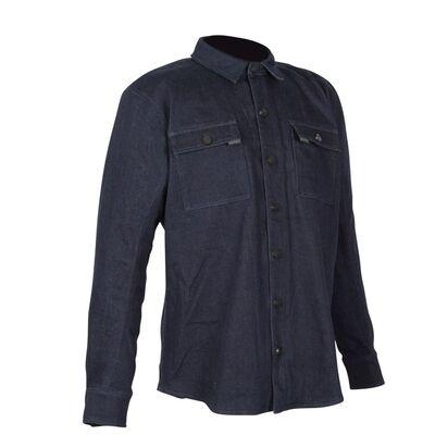 Spada Vermont Shacket CE Motorcycle Riding Shirt - Denim Blue