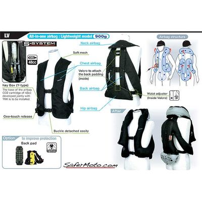Hit-Air SV-2 Equestrian Airbag Vest