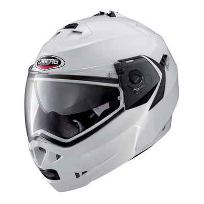 Caberg Duke Flip Front Helmet Metallic White