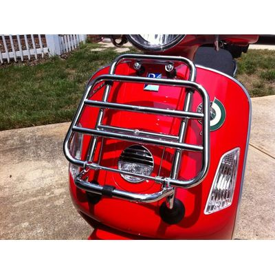 Vespa GTS Chrome Front Carrier