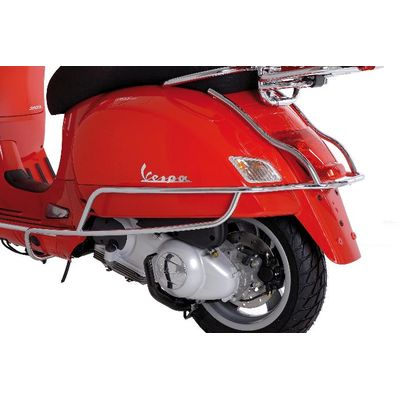 Vespa GTS Chrome Side Protection Bars