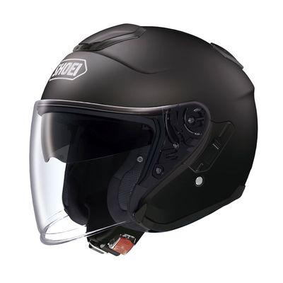 Shoei J Cruise Matt Black open face helmet