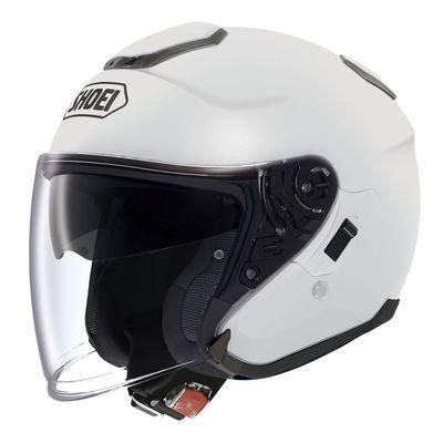 Shoei J Cruise White open face helmets