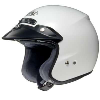 Shoei RJ Platinum R Open Face Helmet White