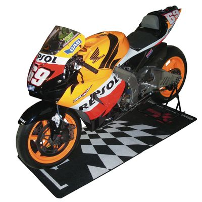 MotoGP Garage Pit Mat Bike